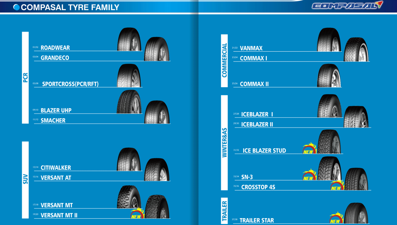 compasal tyre manufacturer